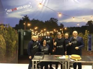 show cooking assessore bini direttore gomiero presidente pujatti e pro pasian di prato