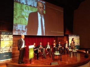 Il presidente della Regione Lazio Nicola Zingaretti alla presentazione del Programma di sviluppo rurale 2014-2020
