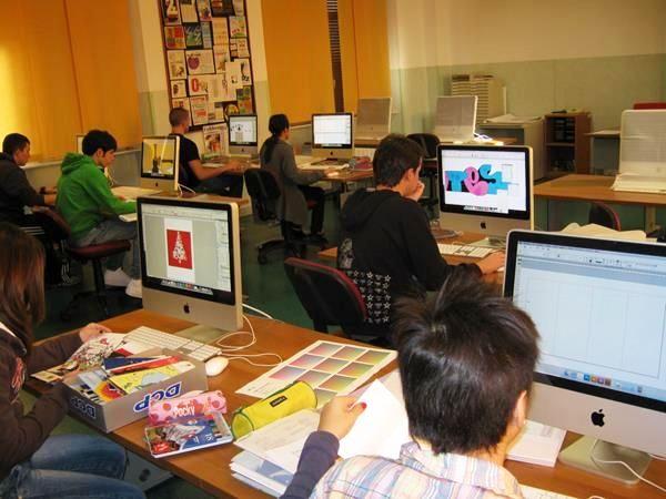 impronta manageriale e nuove sfide alla scuola di grafica