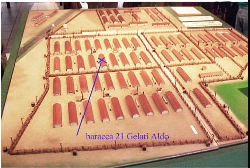 1942 campo di Vernet  plastico BR