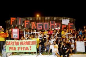 Proteste contro i Mondiali di calcio in Brasile