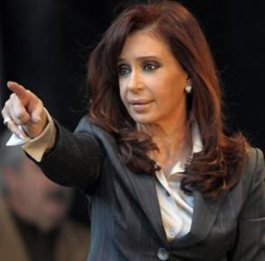 Cristina Kirchner, presidente dell'Argentina