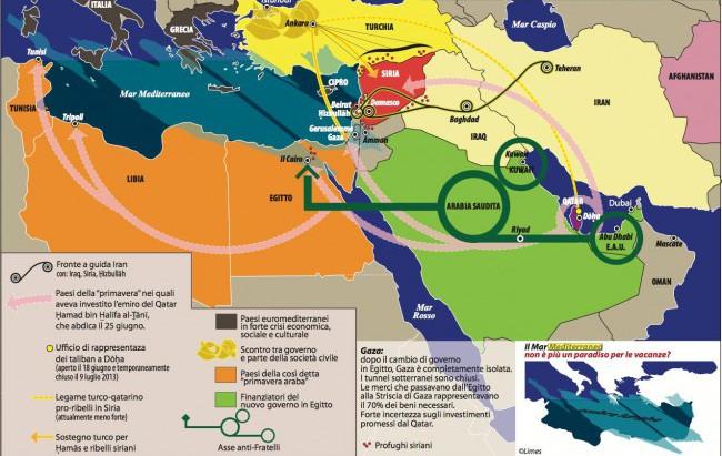 """Carta da Limes 7/13 """"Egitto, rivoluzione usa e getta"""""""