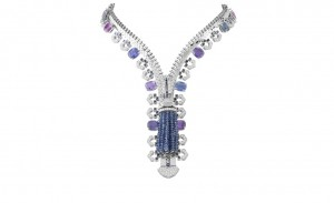 Van-Cleef-Arpels-Zip-necklace-in-white-gold-set-with-diamonds-cushion-cut-multicoloured-sapphires-and-sapphires.-POA1