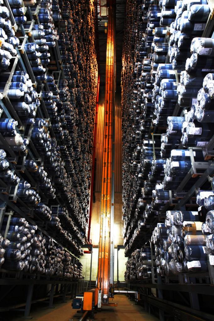Magazzino pezze:Fabrics warehouse