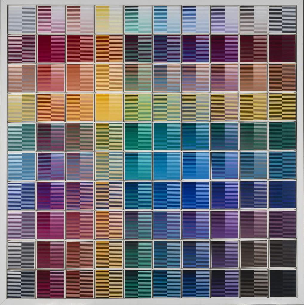 12. Dadamaino, La ricerca del colore 1966