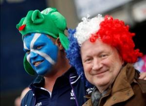 tifosi scozzesie francesi