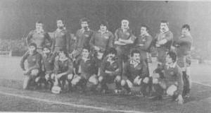 1979 la formazione dei Dogi che affrontò i Cantabrias di Sid Going