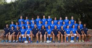 La Nazionale femminile di rugby a Tirrenia in partenza per il Mondiale in Irlanda