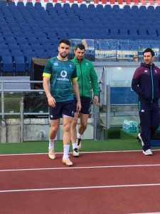 Conor Murray e Rob Kearney
