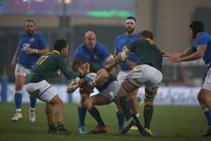 Il test match del 2017 a Padova fra Italia e Sudafrica