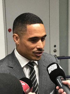 Aaron Smith, l'uomo del match