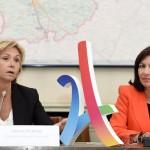 Valérie Percosse e Anne Hidalgo