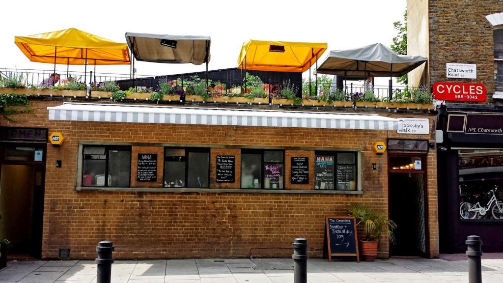 Nana Cafe negli ex - servizi pubblici- Homerton