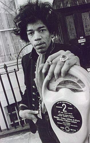 jimi-hendrix-parking-meter London