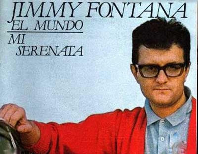 significato canzone il mondo jimmy fontana