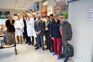 L'équipe del Pronto soccorso dell'ospedale di Termini Imerese