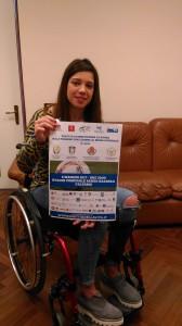Francesca Vaccara, testimonial della Partita della Vita