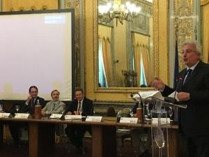 L'assessore alla Salute Baldo Gucciardi presenta la rete oncolgica a Palazzo dei Normanni