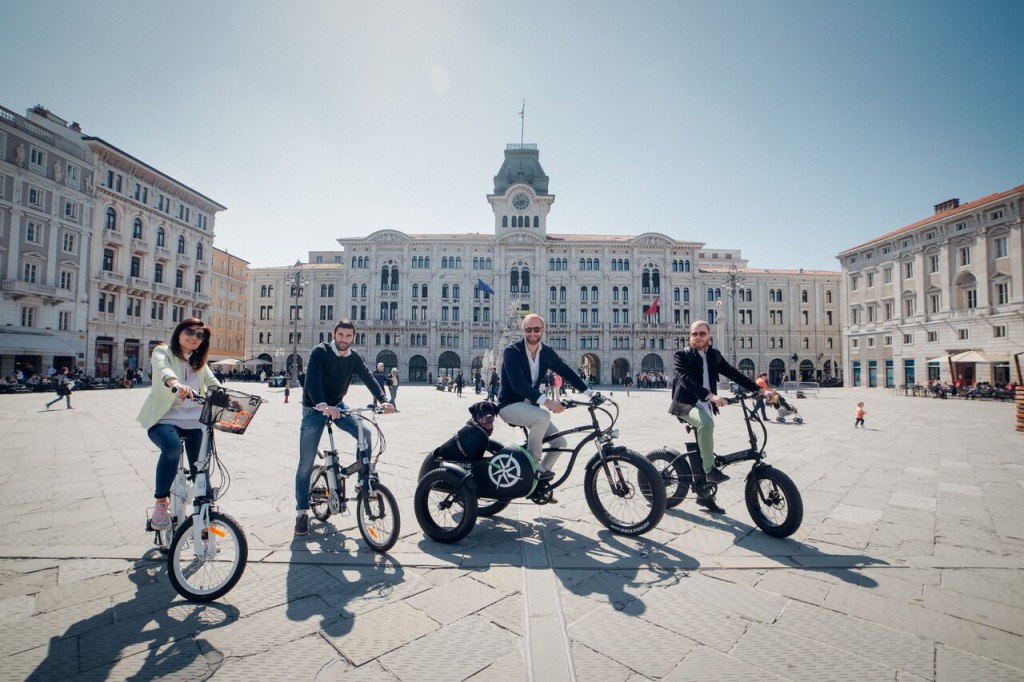Trieste city tour by ebike
