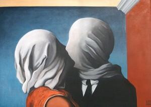 Magritte bacio 01