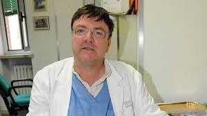 Il professor Paolo Zamboni, università di Ferrara