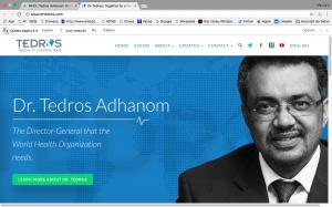 Candidato Etiope Tedros