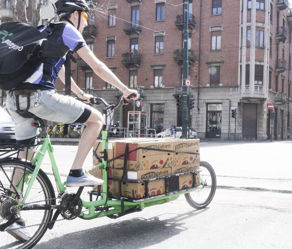 portanatura bici Torino
