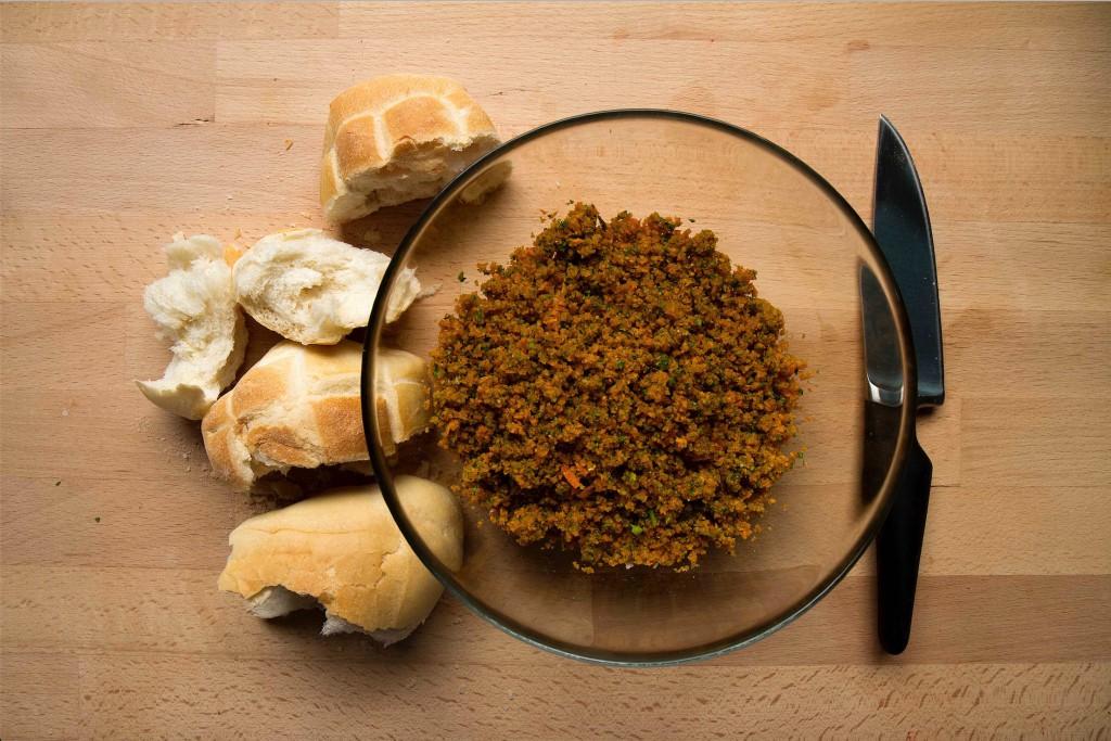 ingredienti canederli veg