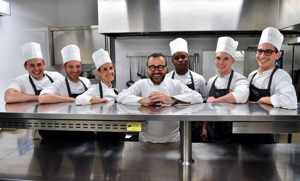 Trattoria Trombetta dello Chef, Cuoco Giancarlo Morelli