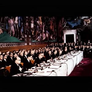 25.03.1957, Firma dei Trattati di Roma