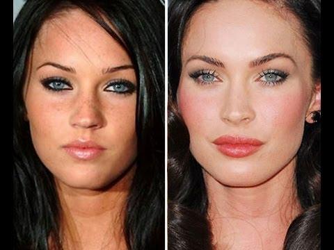 Prima/dopo Megan Fox