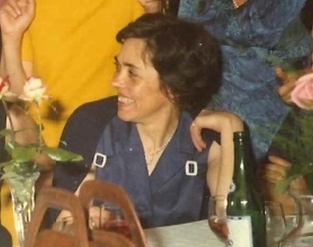 Anna  Zorzi nei primi anni Settanta