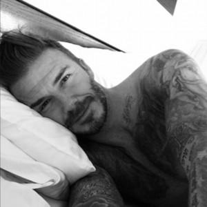 la prima foto postata da Beckham sul suo nuovo profilo ufficiale instagram @davidbeckham