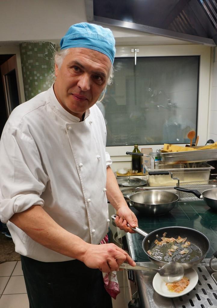 Andrea Chiereghin alla Cozzeria