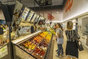 Un supermercato italiano