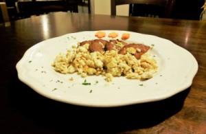 A Segusino piatto forte è la soppressa rosolata con la ricotta