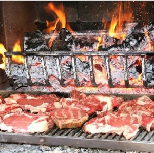 Grigliata di carne come da tradizione della cucina tervigiana
