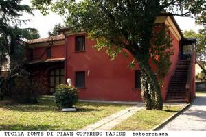 """La """"Casa Rossa"""" a Ponte di Piave"""