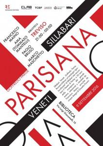 """La locandina della """"Parisiana"""""""