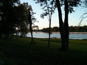 Il fiume Piave luogo prediletto dello scrittore