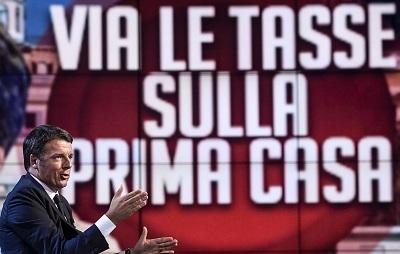 ++ Renzi, giusto che su prima casa non si paghino tasse ++
