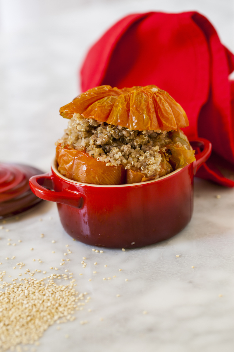25. Pomodori ripieni di quinoa e carne - 46