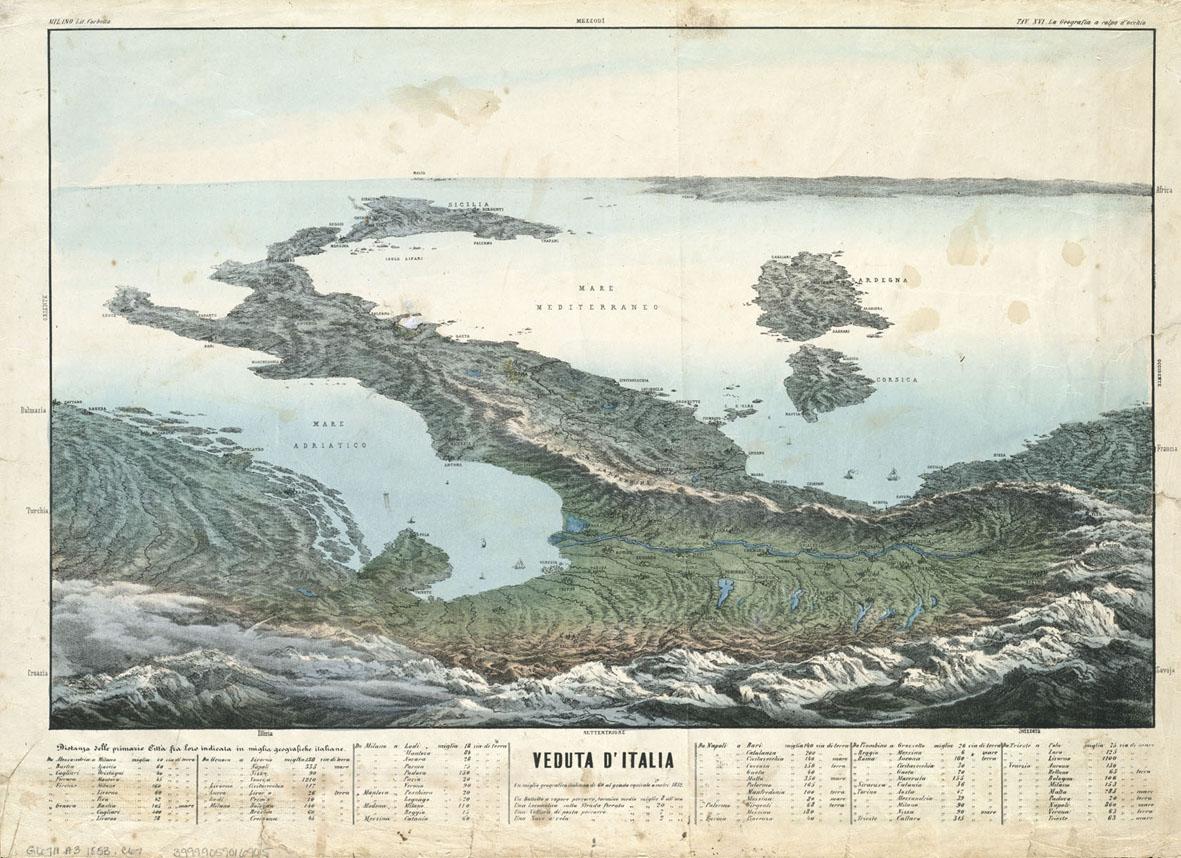 veduta italia 1853