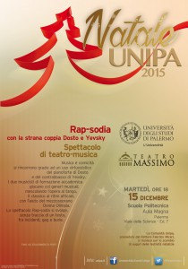 """Natale_2015 """"Rap-sodia"""" Invito-digitale"""