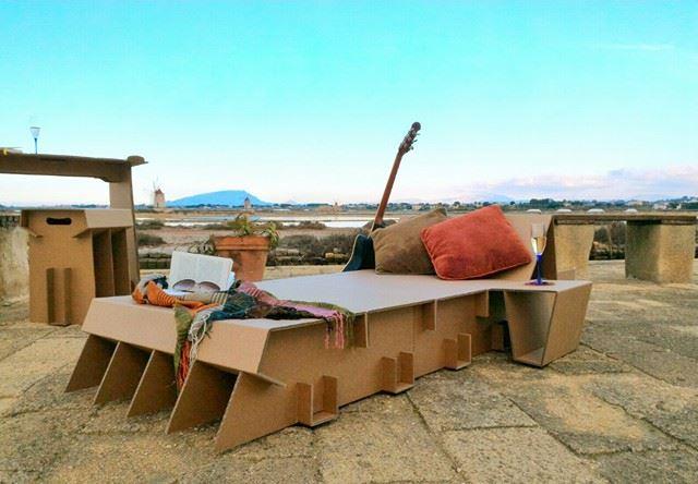 Una camera da letto in uno zaino il prototipo per i neonomadi