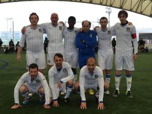 La squadra di 'Crazy for football'