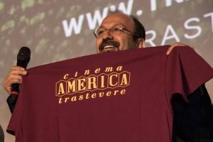 Farhadi con la maglia del Cinema America