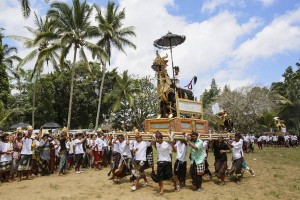 Cremazione di massa a Bali, Indonesia