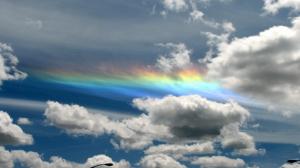nuvole arcobaleno